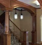 lawrence corp arched molding