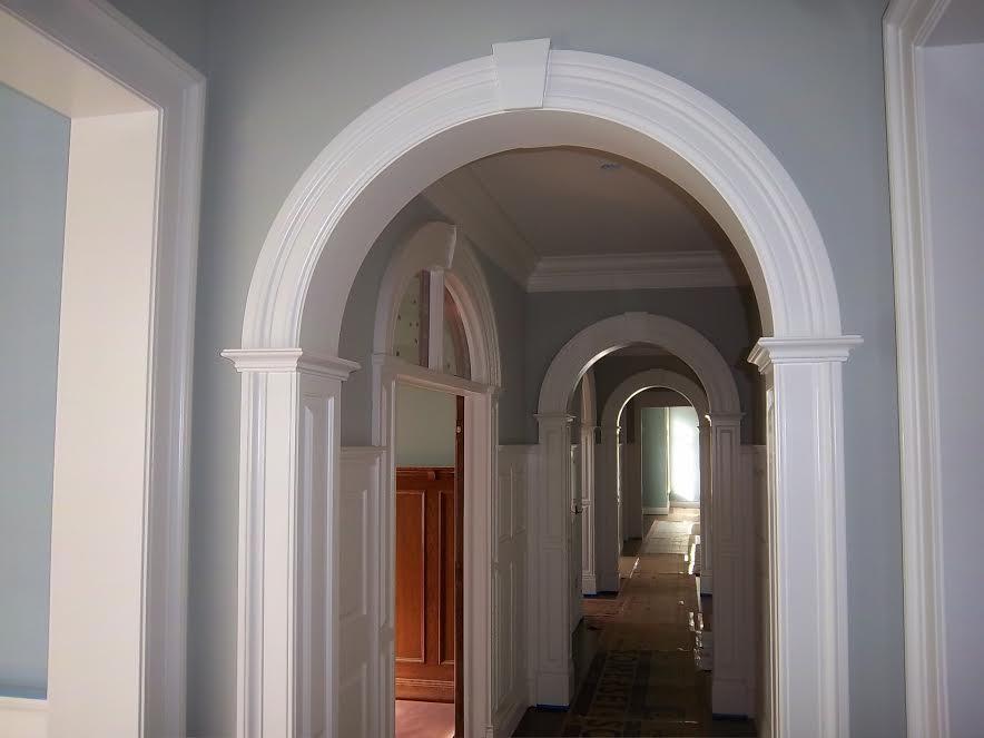 Arched Doorway Trim